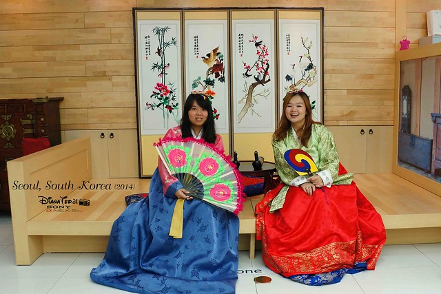 South Korea 2014 - Seoul Free Hanbok Experience
