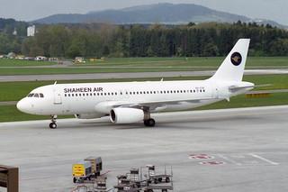 Shaheen Air International (Constellation International Airlines) Airbus A320-232 OO-COH