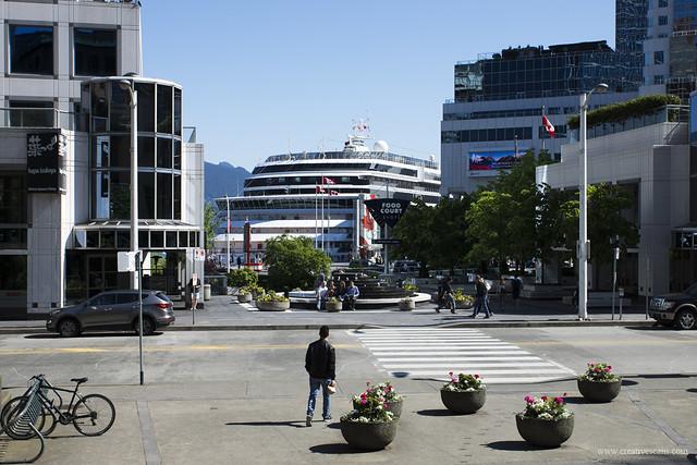 Cruise ship season in Vancouver