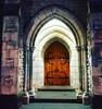 Church doorway #Auckland