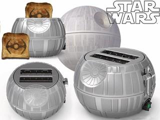 塞滿你肚子的鈦戰機吐司!!Pangea Brands【死星烤吐司機】Star Wars Death Star Toaster