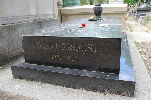 Tombe de Marcel Proust - Cimetière du Père Lachaise