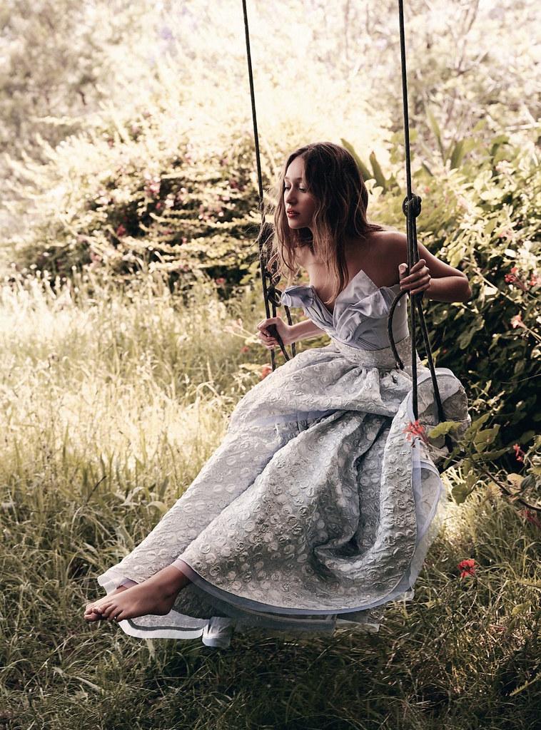 Алисия Дебнем-Кери — Фотосессия для «Vogue» AU 2016 – 7