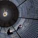 Plugging Away Inside Massive SLS Fuel Tank: Welders Complete Final Plug Fusion Welds on SLS Liquid Hydrogen Tank by NASA's Marshall Space Flight Center