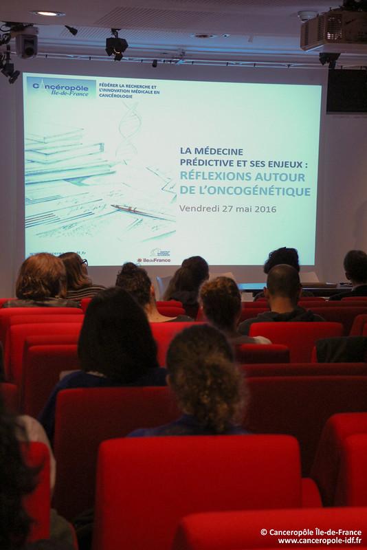 27/05/2016 - La médecine prédictive et ses enjeux : réflexions autour de l'oncogénétique
