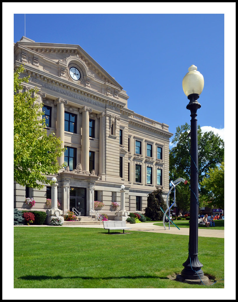 Fantastic Dekalb County Courthouse In Auburn Indiana The 3 Story De Download Free Architecture Designs Scobabritishbridgeorg