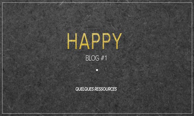 Quelques ressources pour bloguer beau et bien #1