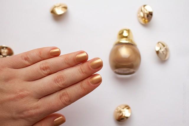 08 Dior Diorific Vernis #241 Gold Equinoxe swatches