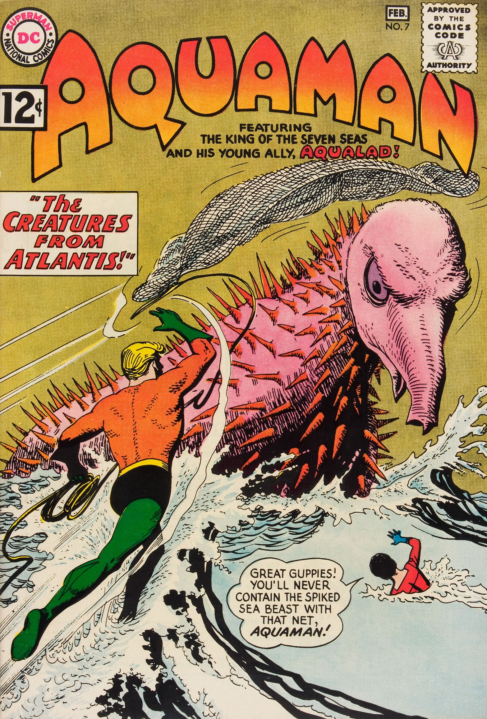 Monster Brains Aquaman Comic Covers