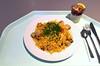 Spanish paella with seafood & chicken / Spanische Paella mit Meeresfrüchten & Hühnchen