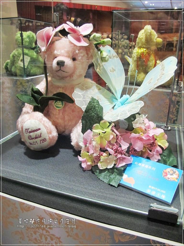 05-4 2萬蘭花泰迪熊