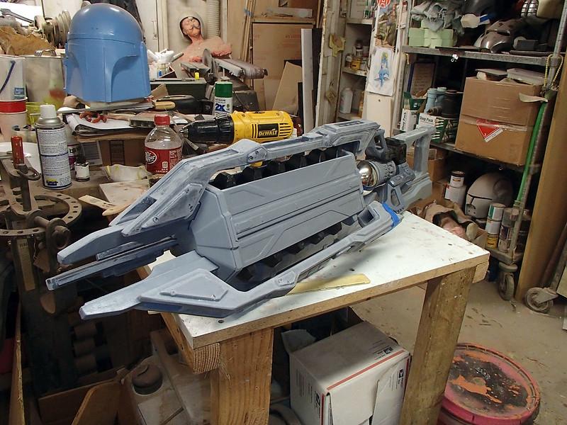 Lightning Gun Dry Fitting