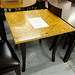 Restaurant/Cafe table zebrano wood