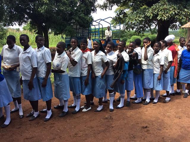 Girls at Iganga