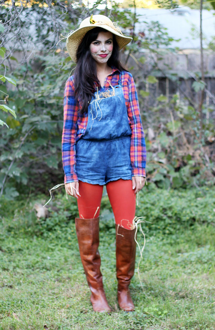 scarecrow costume, austin texas style blogger, austin fashion blogger, austin texas fashion blog