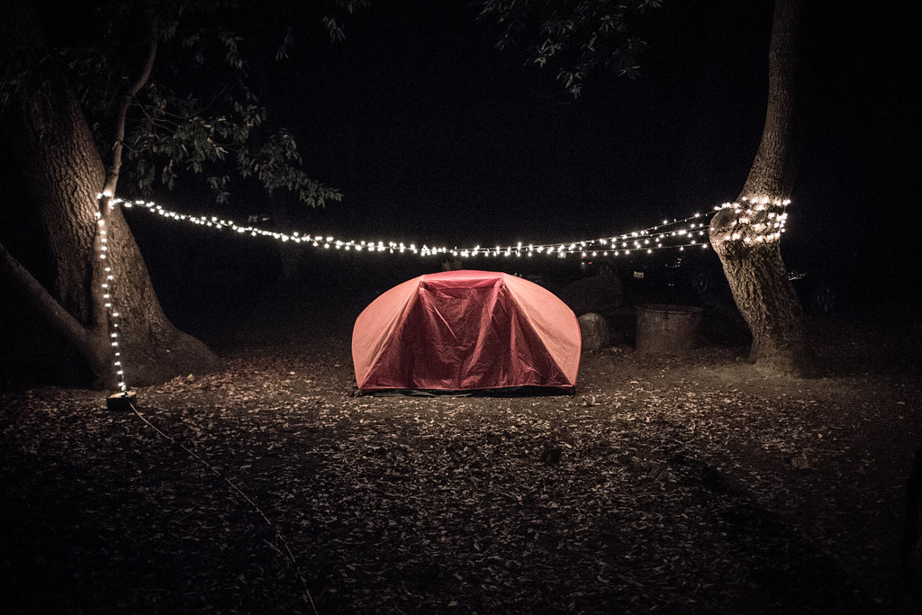 merry camping.