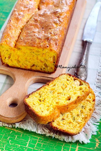Homemade savory bread