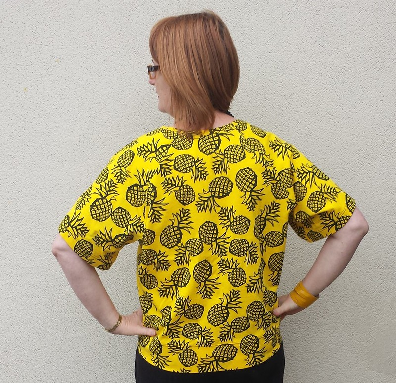 Pattern Fantastique Aeolian tee in cotton jersey from Darn Cheap Fabrics