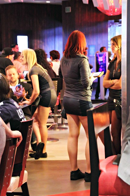 Waitresses at Gordon Ramsay's BURGR, Las Vegas