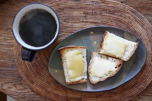 木, 2015-01-01 08:56 - Coffee & Bread w/Raclette
