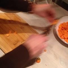 Chop chop. #lokalmat