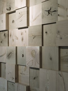End Grain Wall Display > OeO-Design studio