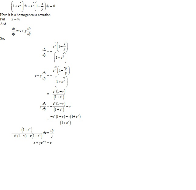 RD Sharma Class 12 Solutions Chapter 22 Differential Equations Ex 22.9 Q25