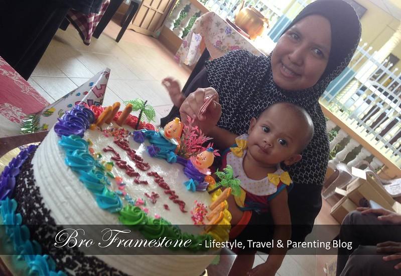 Happy Birthday Baby Fisha Berumur Setahun
