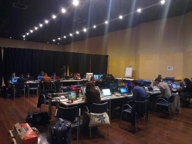BIME Hack Day 2014 - En el hackaton