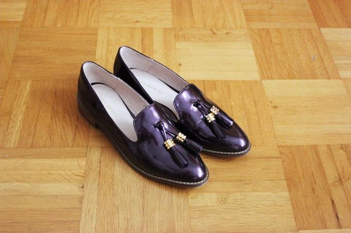 Tassel loafers - lackloafers Zara - loafers dame