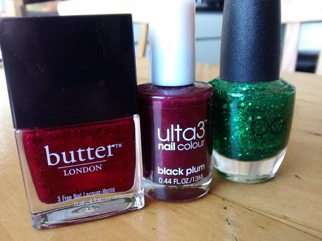christmas xmas nail polish art