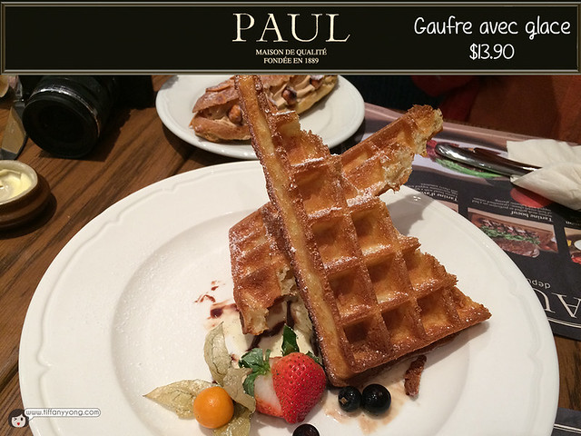 PAUL Gaufre avec glace