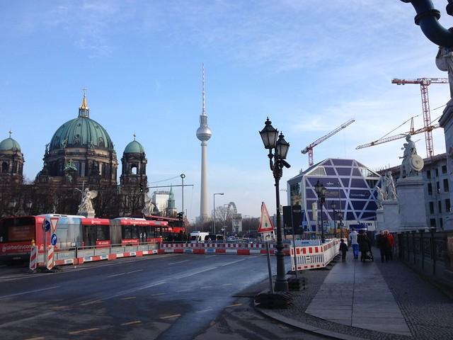 Berlin: Dom, Fernsehturm, Stadtschloss/Humboltforum