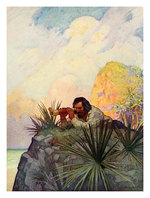 019-Robinson Crusoe-1920- ilustrado por NC Wyeth