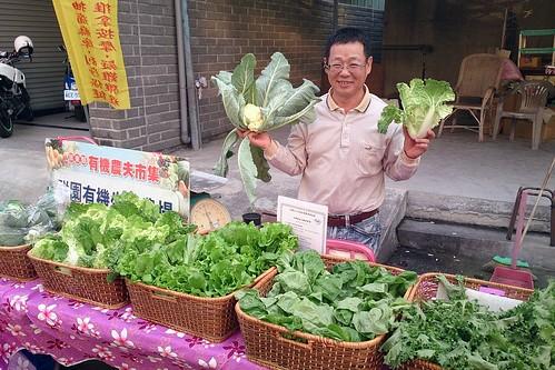 向有機小農購買。攝影:李玉琴。