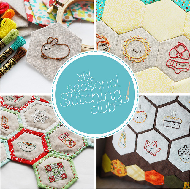 Seasonal Stitching Club