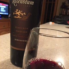 2009 Planchon Vineyard from #Rosenblum #wine #zins #ripeandready ! How's everyone?