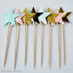 Star cupcake picks 2