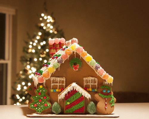 Gingerbread House and Tree