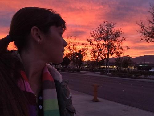 colors clouds sunrise santaclarita sweetlight 365days