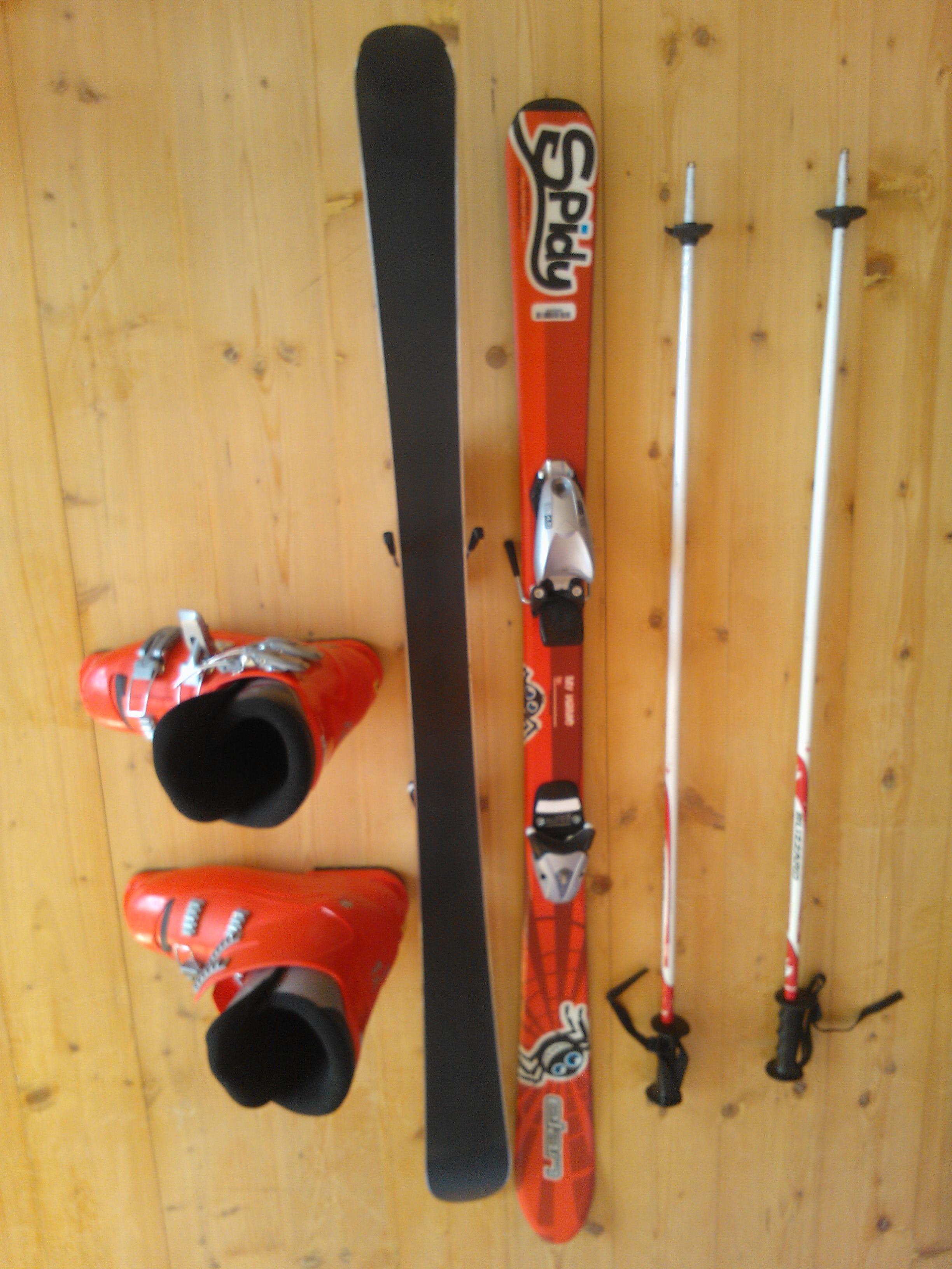 Dětské lyže+boty+hůlky - Bazar - SNOW.CZ beddb67011
