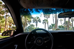 View From My Camaro at Castaway Point Park