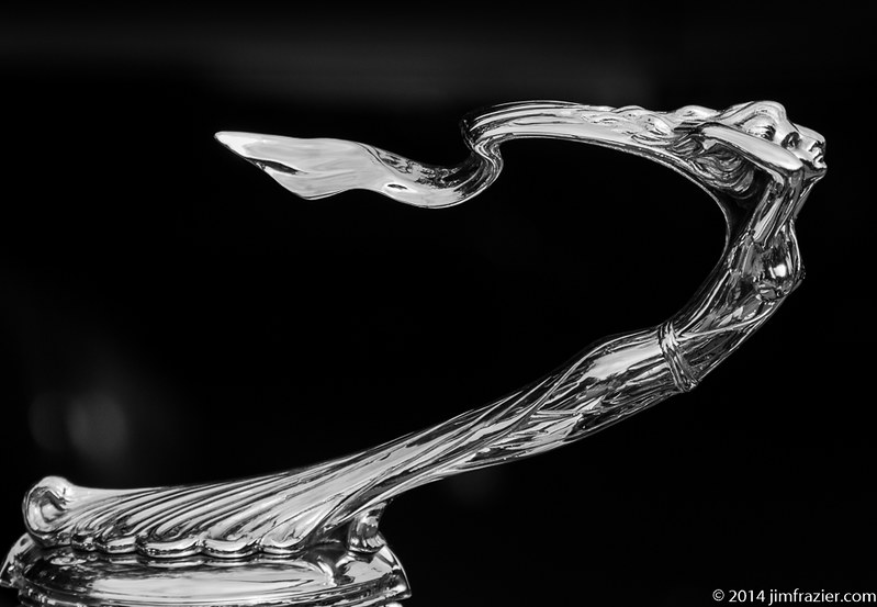 Hood Ornament - 1930 Cadillac Roadster