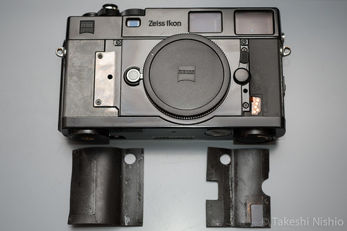 Zeiss Ikon, removed front-side skins