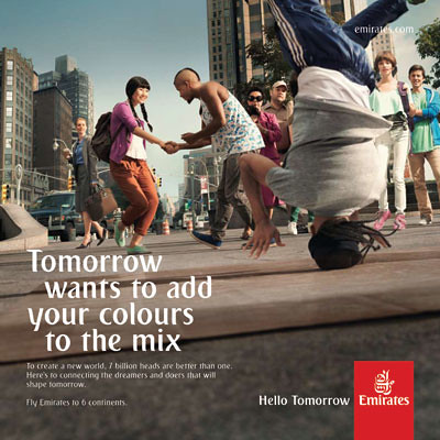 Emirates Hello Tomorrow Break Dance (Emirates)
