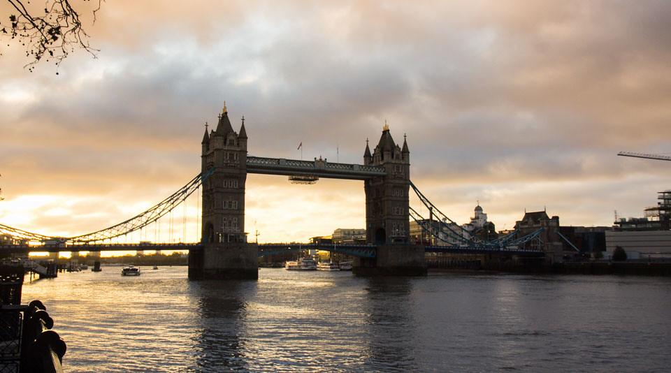 London Wochenende im Winter