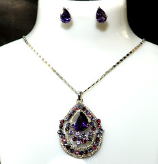 amethyst, purple, violet, locket, jewellery, gemstone, chain, necklace, pendant,