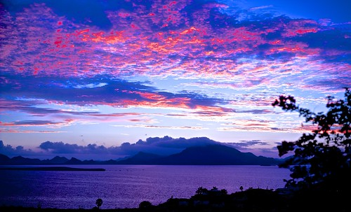 mountains sonora clouds mexico sunrisesunsetskyseaoceanbocochibampobayseaofcortezsancarlos
