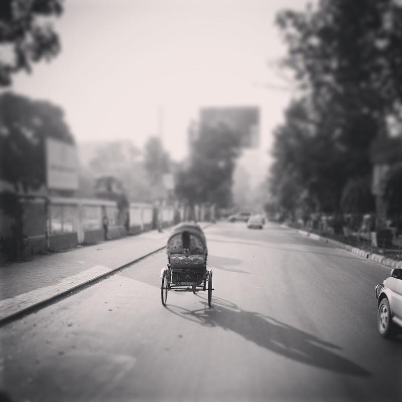 Rickshaw by Seeam Khan, on Flickr