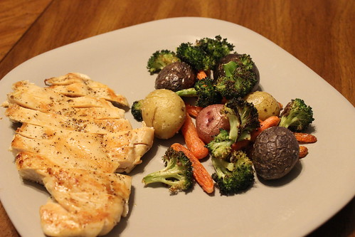 Grilled Chicken & Roasted Veggies